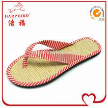 straw flip flops manufacture