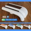 Wall Mounted High Quality Anti-bacterial Flame Retardant plastic chair rail For Hospital Corridor
