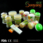 Plastic tube containers bamboo toothpicks