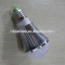 2014 High Quality led bulb 3 years warranty e27 led bulb ceramics