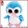 Big eyes animals penguin soft toy