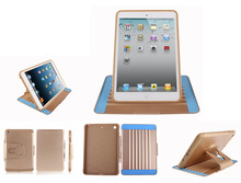 360 degrees rotating case with stand tablet pc case for iPad 2/3/4