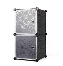 Modern design plastic I sahpe display cabinets for small stuff FH-AL007-2