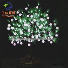 Shengjia Height 0.8M LED Bonsai TREE artificial wall mounted christmas tree