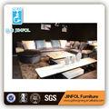 italiano sofá de la tela conjunto jf912