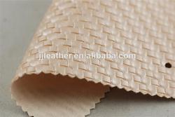 Fashion artifical textile leather