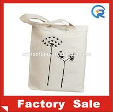 wholesale natural color OEM thin cotton promotional bag
