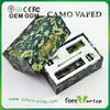 camo vaped wax dry herb chamber vaporizer pen cloupor dna 30