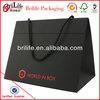 Luxury kraft paper shopping bag