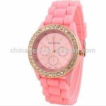 Gift + Casual Watch Geneva Wristwatches Man Women Quartz Watch Women Dress gold Watch Relogio Masculino Atmos