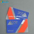 baixo preço e bom preço de crédito de cartão transparente cartão vip