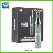2014 Pyrex glass atomizer crosat 5 atomizer wholesale exgo w3