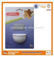 white colour baby safety magnetic door stopper/ sliding glass shower door stopper