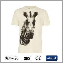 low price usa best selling men ivory biker printed t-shirts