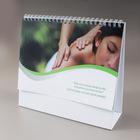 2014 Customized design and high quality calendar /high quality photo wall calendar printing