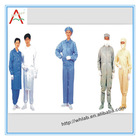 high visibility antistatic coverall with conductive strips workwear