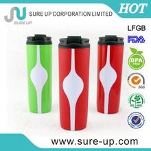 elegant personalized plastic cup beer 500ml (MPUF004)