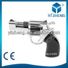 1PCS Hot Selling Pistol Gun Shape Refillable Butane Gas Lighter Cigarette Cigar YZ-691