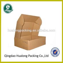 Custom printed cardboard die cut packaging box