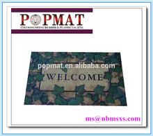 2015 new product anti slip beauty rubber floor mat