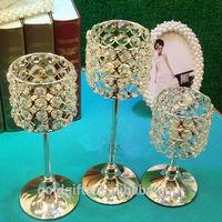 newest crystal wedding candelabra for room decoration