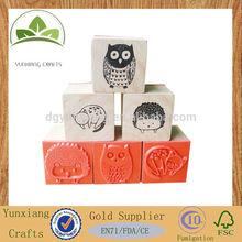wooden stamp wooden crafts