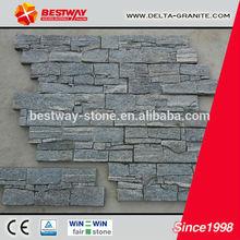 NEW cultural stone vneer panels price,natural slate stone veneer panels price with competitive price