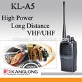 L'électronique KL-A5 hf radio émetteur - récepteur avec VHF / UHF