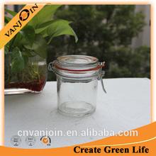 250ml Glass Clip Top Storage Jar