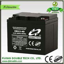 long life sealed maintenance free agm vrla 24v 40ah battery