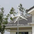 200w 12v/24v dc de alta eficiencia del generador de viento para uso en el hogar