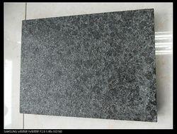 China G684 Flamed+Brushed Panda Black Granite
