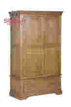 antique wooden oak bedroom set wardrobe