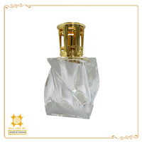 Elegant classic fancy new product hot sale in dubai perfume bottle for fragrance oil scented oil warmer