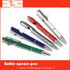 2014 Men Favourite Metal Ballpoint Pen with Bear Opener