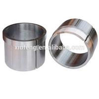 Custom Precision machining 304 Stainless Steel CNC Turning Parts Custom Bushing Block ASTM / AISI
