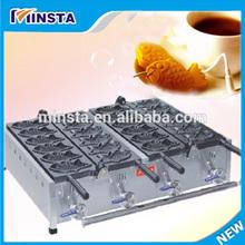 CE Gas and electric:fish shape taiyaki maker electric teppanyaki grill pan on sale