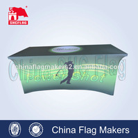 Custom spandex trade show top table cover,custom printing cushion covers wedding table cover
