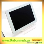 9 inch MTK6577 dual core 3g tablet with free android OS