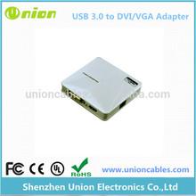 USB 3.0 To DVI VGA HDMI Adapter for Dual Monitors
