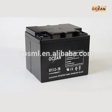 MSDS 12v 30ah lead acid battery