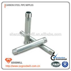 newest standard steel pipe nipple