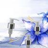 Plastic Dispenser lotion pump with metal shroud L201E
