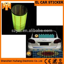 High Brightness Equalizer El Car Sticker At Best Price
