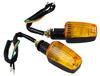2x Motorcycle LED Light Turn Signals Indicators