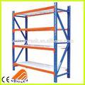 De pie libre de resistencia media estante del almacén, larguero almacén de estanterías, bastidor de tipo medio