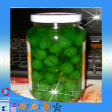 2015 China cherry picker/canned green color sour cherry