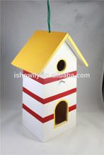 Las ventas caliente nuevo auto- montado la naturaleza pajarera de madera, bricolaje casa del pájaro de madera productos