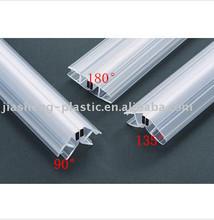 Plástico barras magnéticas para quarto de chuveiro / plástico porta stoppers / pvc barras magnéticas