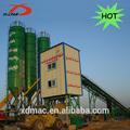 HZS90 mini biogaz usine de béton pour la vente